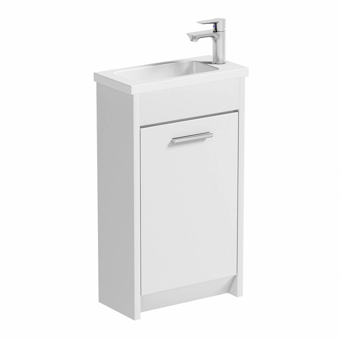 Image of Smart White Compact Unit & Basin