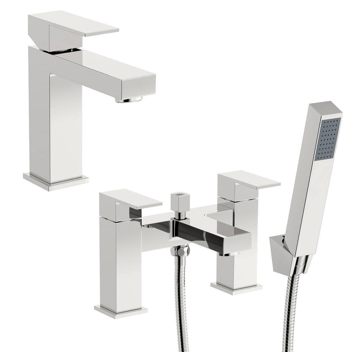 Image of Richmond Basin and Bath Shower Mixer Pack