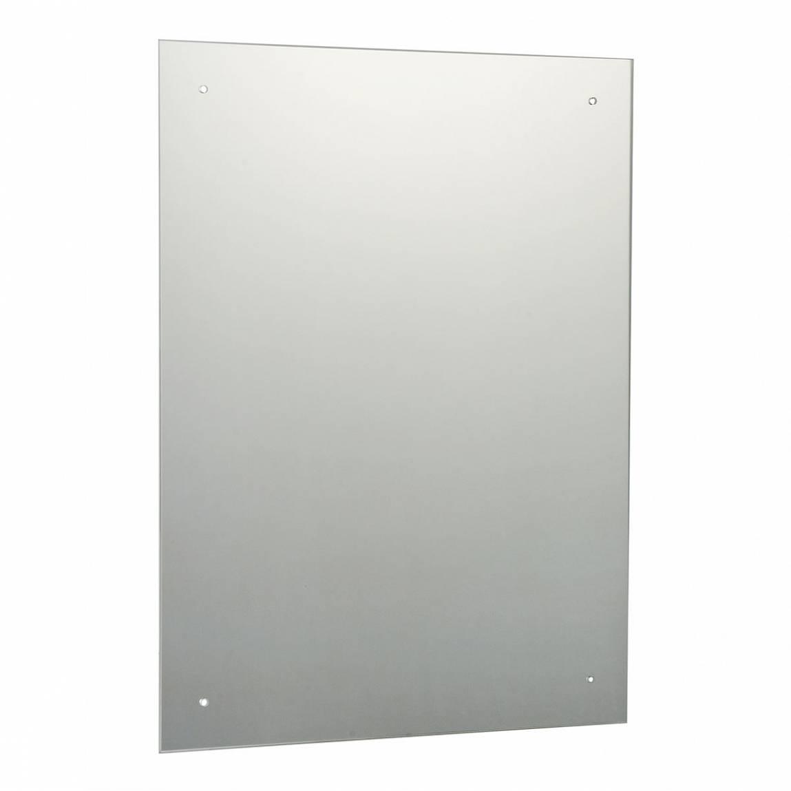 Image of Rectangular Drilled Mirror 60x45cm