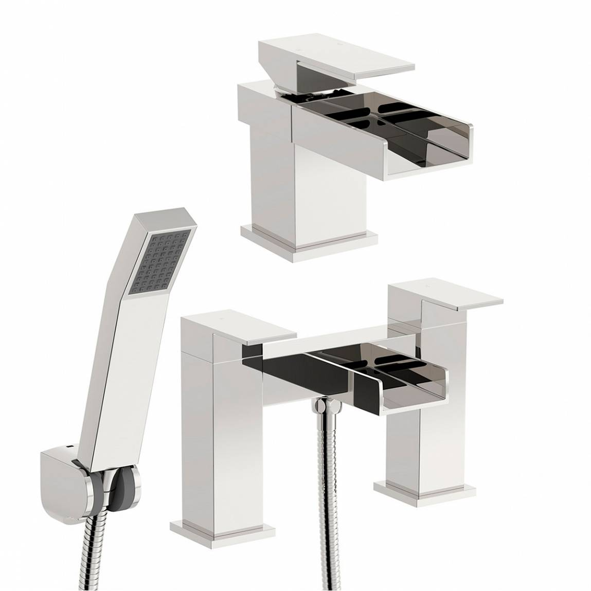 Image of Metro Basin and Bath Shower Mixer Pack