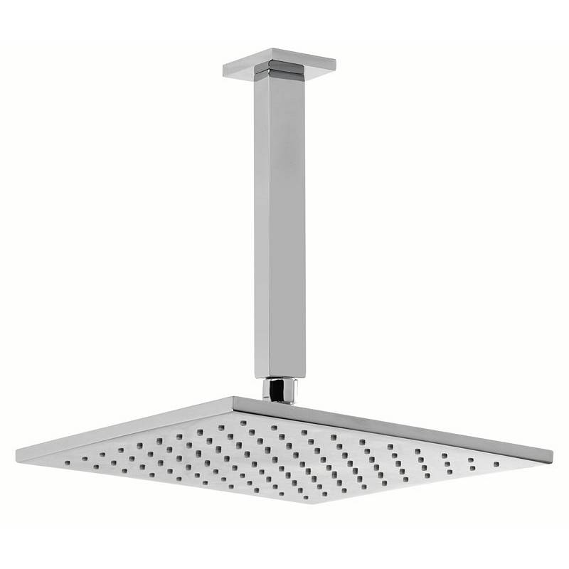 Image of Square 250mm Head & Ceiling Arm