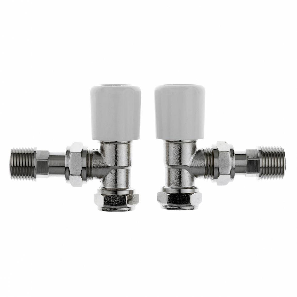 Image of Angled Radiator Valves