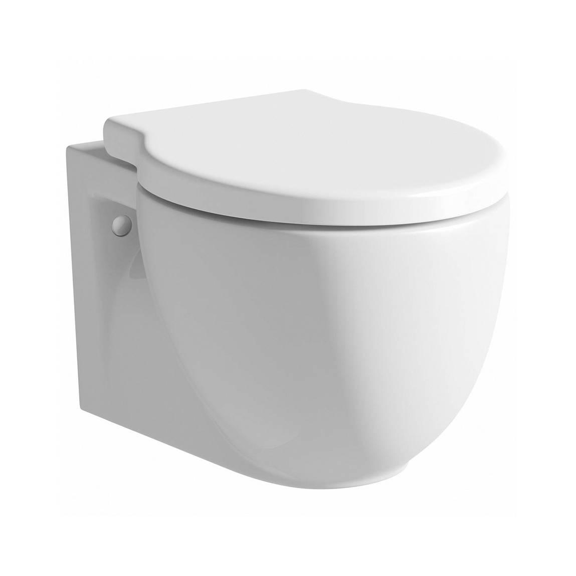Image of Madison Wall Hung Toilet inc Luxury Soft Close Seat