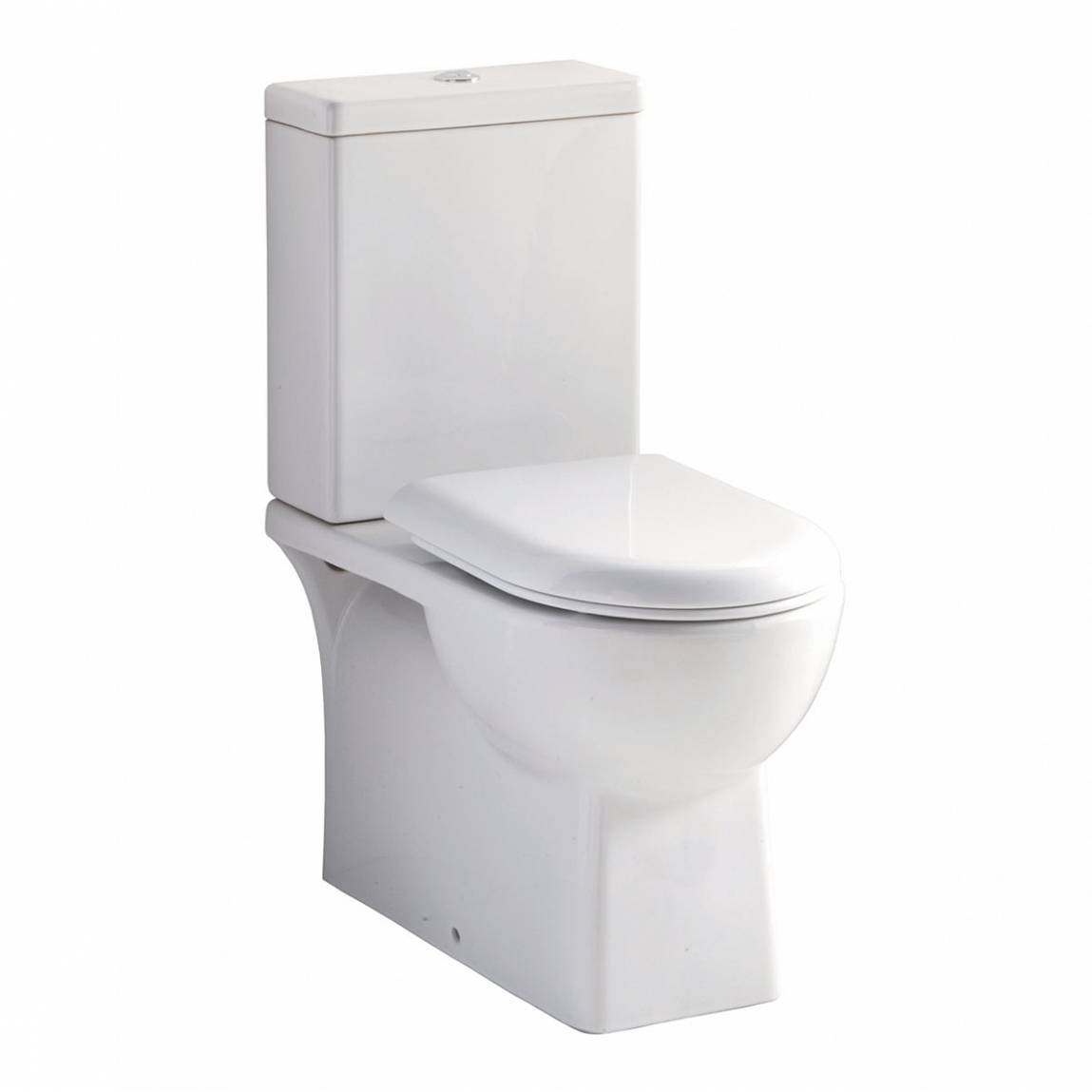 Image of Brent Close Coupled Toilet inc Seat PLUS Pushfit Valve