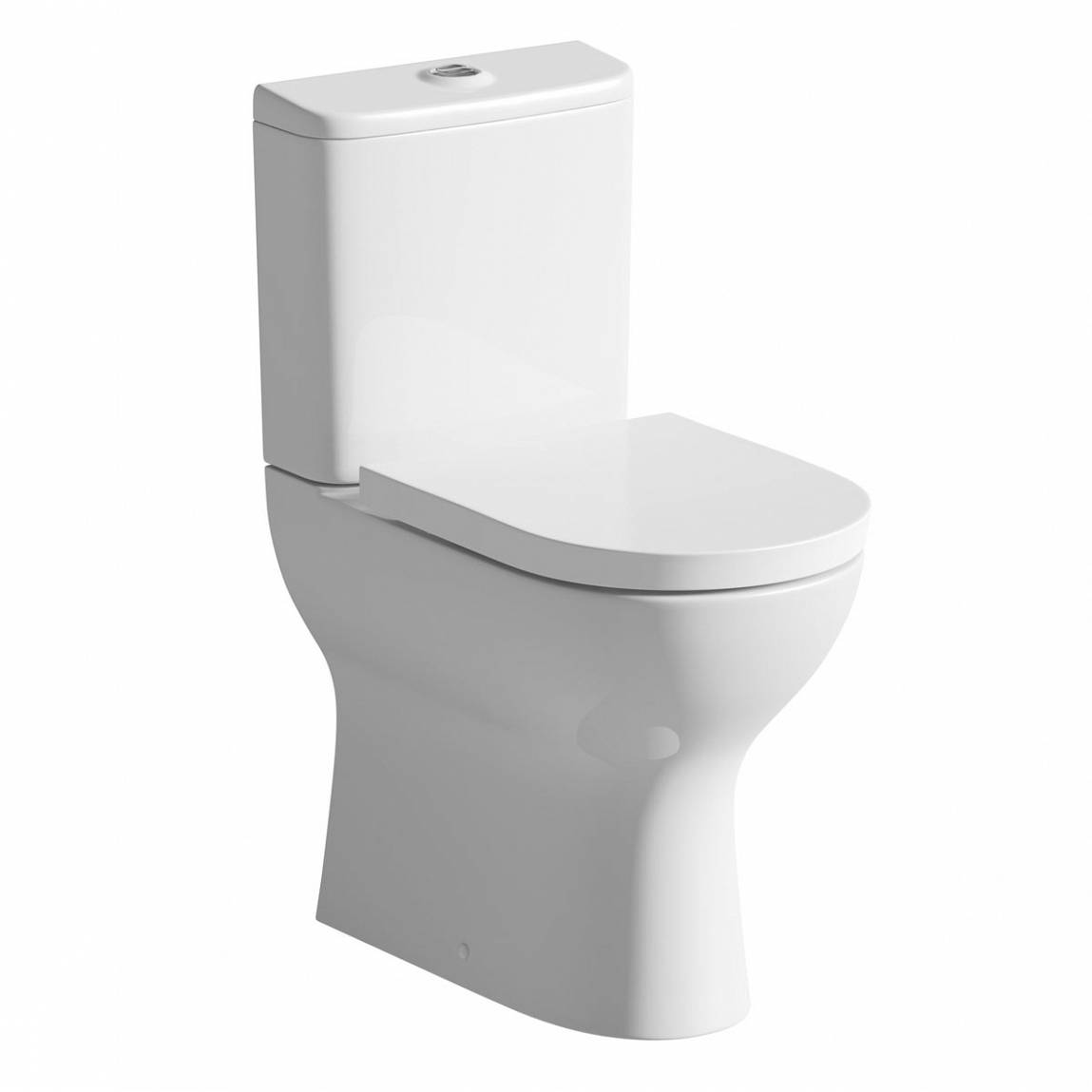 Image of Fairbanks Raised Height Close Coupled Toilet inc. Luxury Soft Close Seat