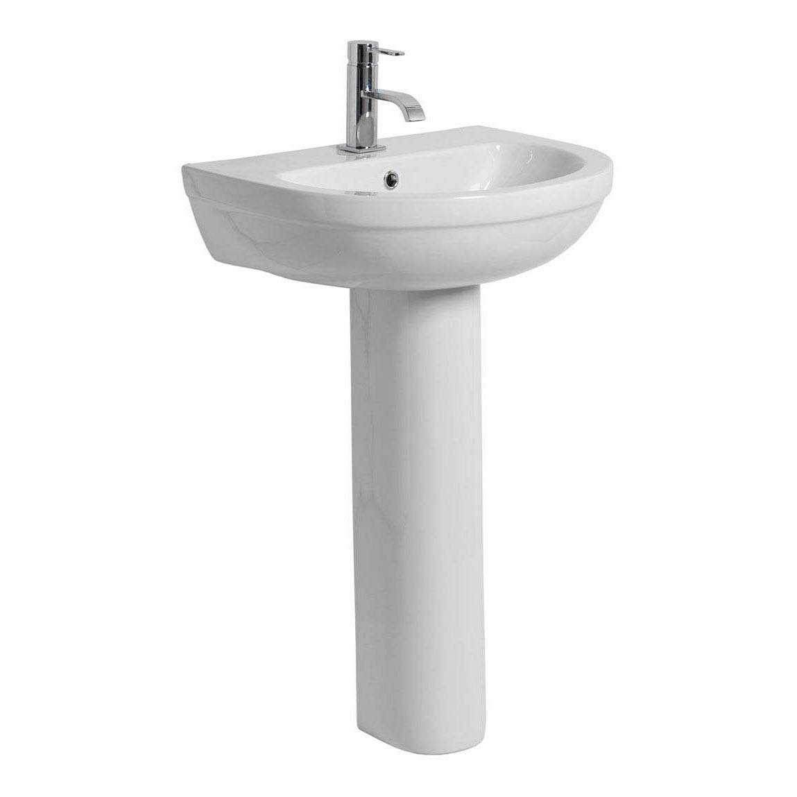 Image of Balance Basin & Pedestal PLUS Waste