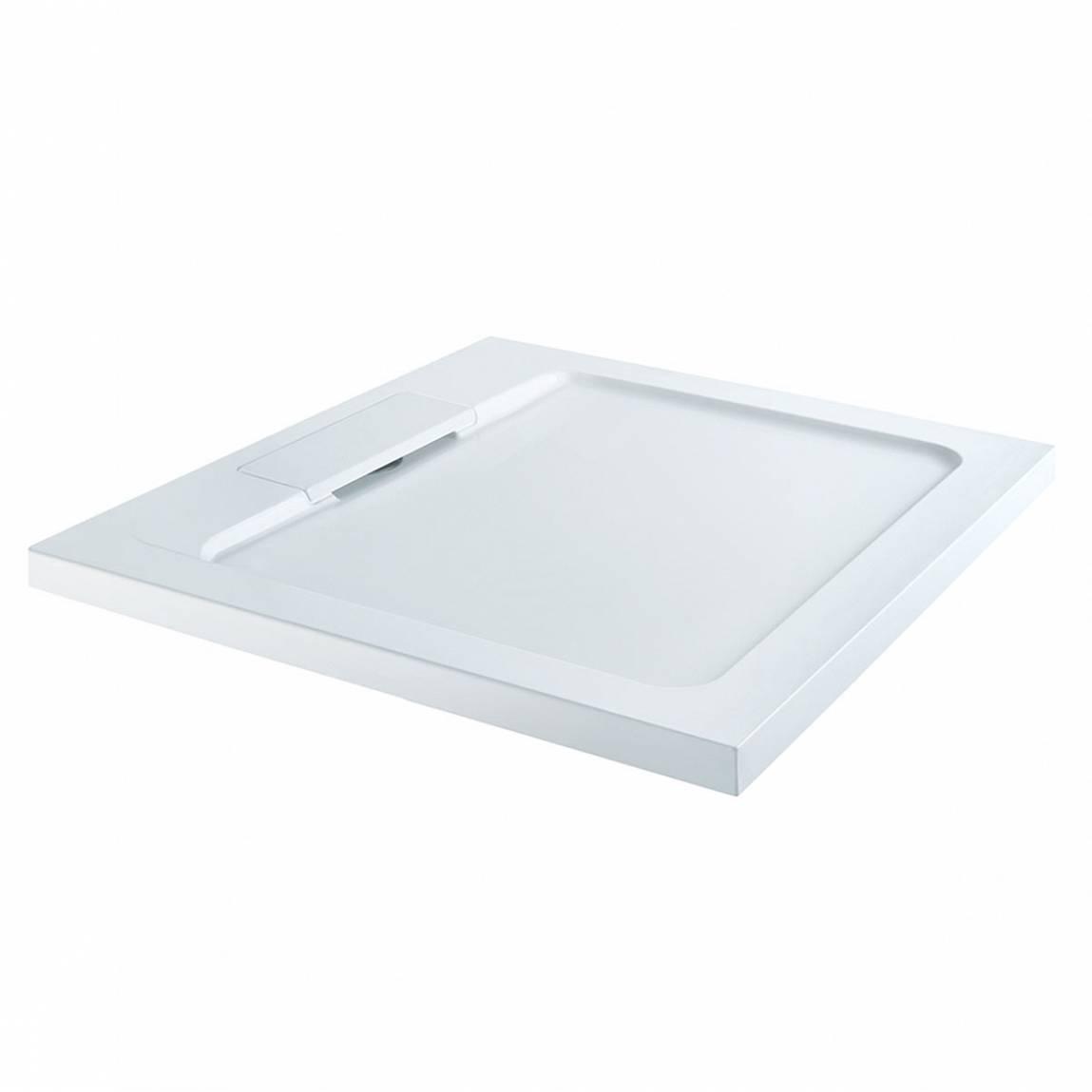 Image of Designer Square Stone Shower Tray 800 x 800
