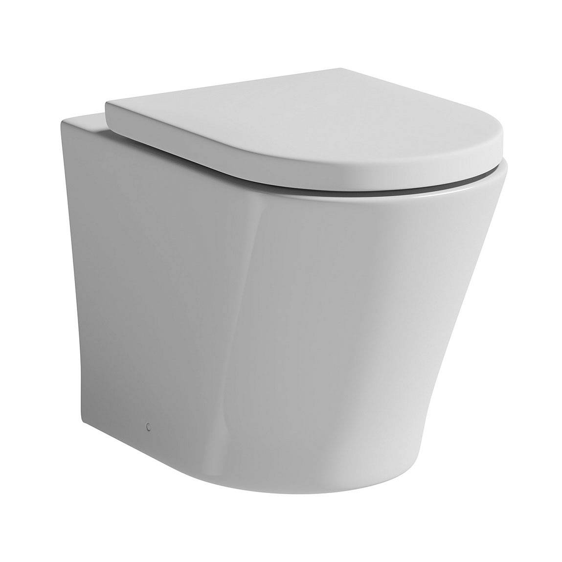 Image of Arc Back To Wall Toilet including Soft Closing Seat Special Offer