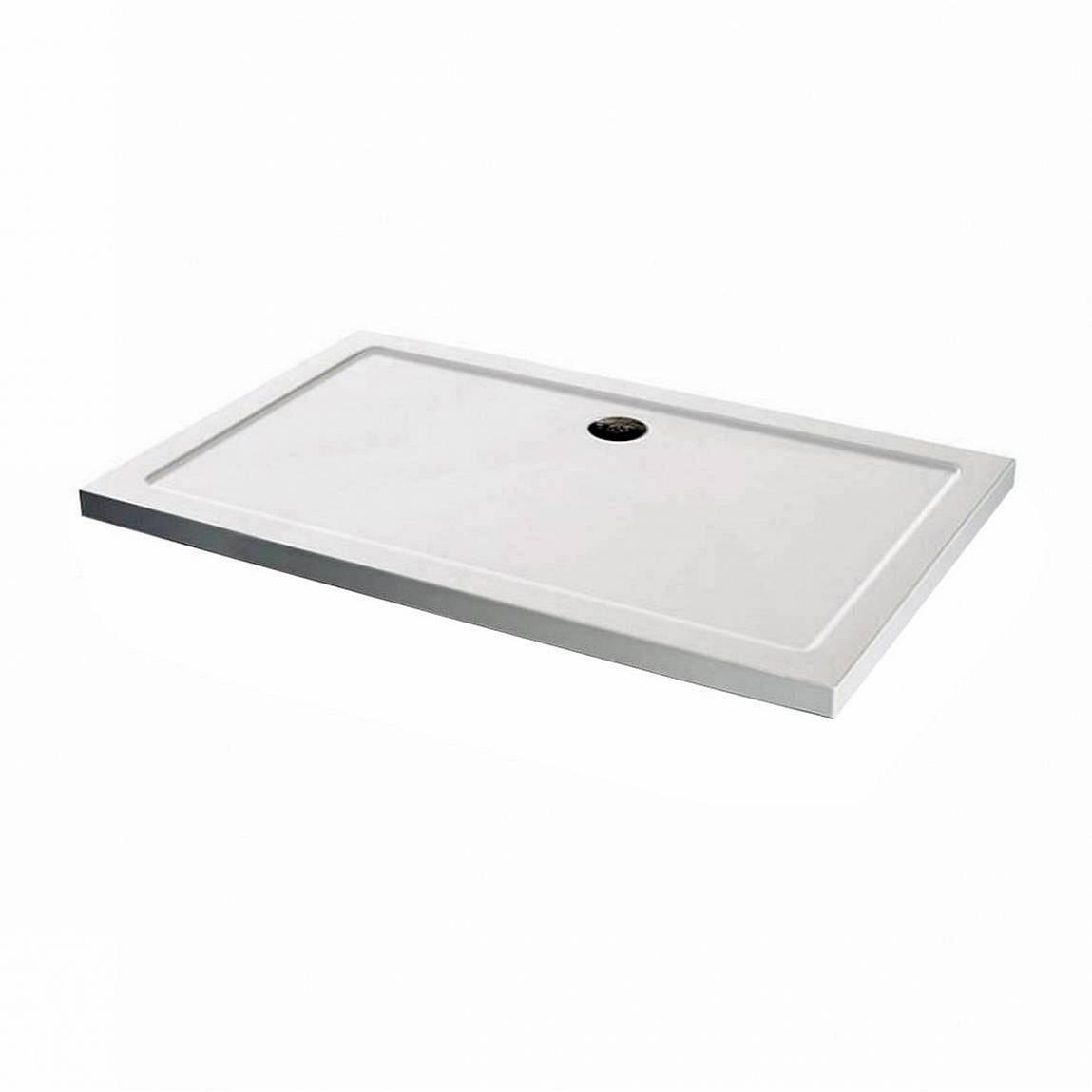 Image of Rectangular Stone Shower Tray 900 x 760