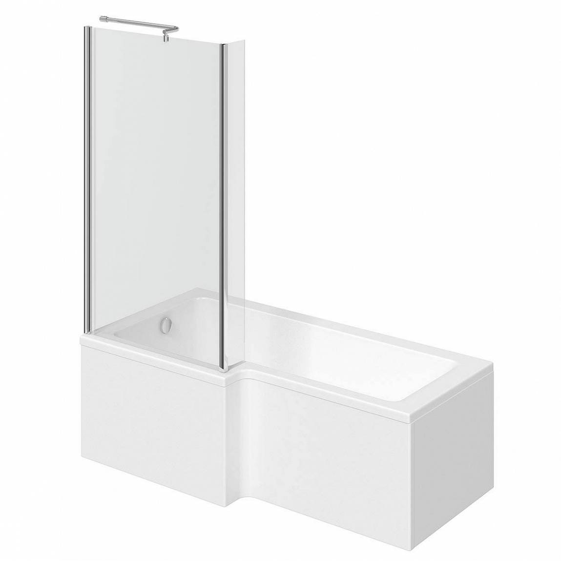 Image of Boston Shower Bath 1700 x 850 LH inc. Screen
