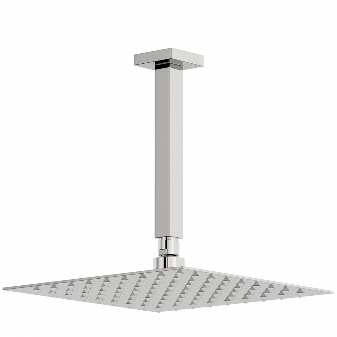 Image of Arcus 250mm Shower Head & Square Ceiling Arm