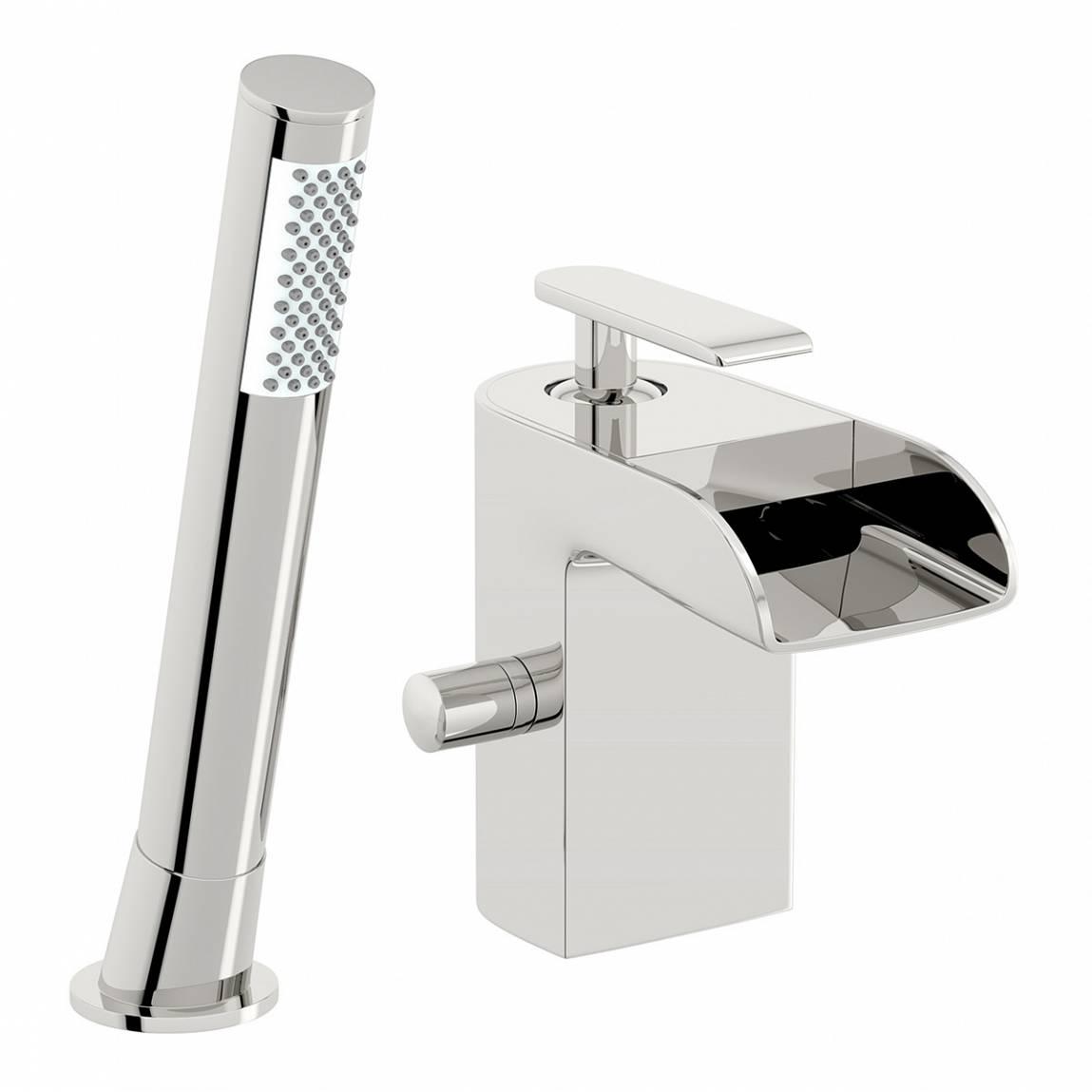 Image of Reinosa Waterfall Bath Shower Mixer
