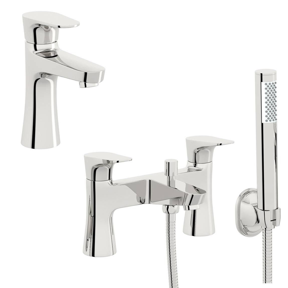 Image of Create Basin and Bath Shower Mixer Pack