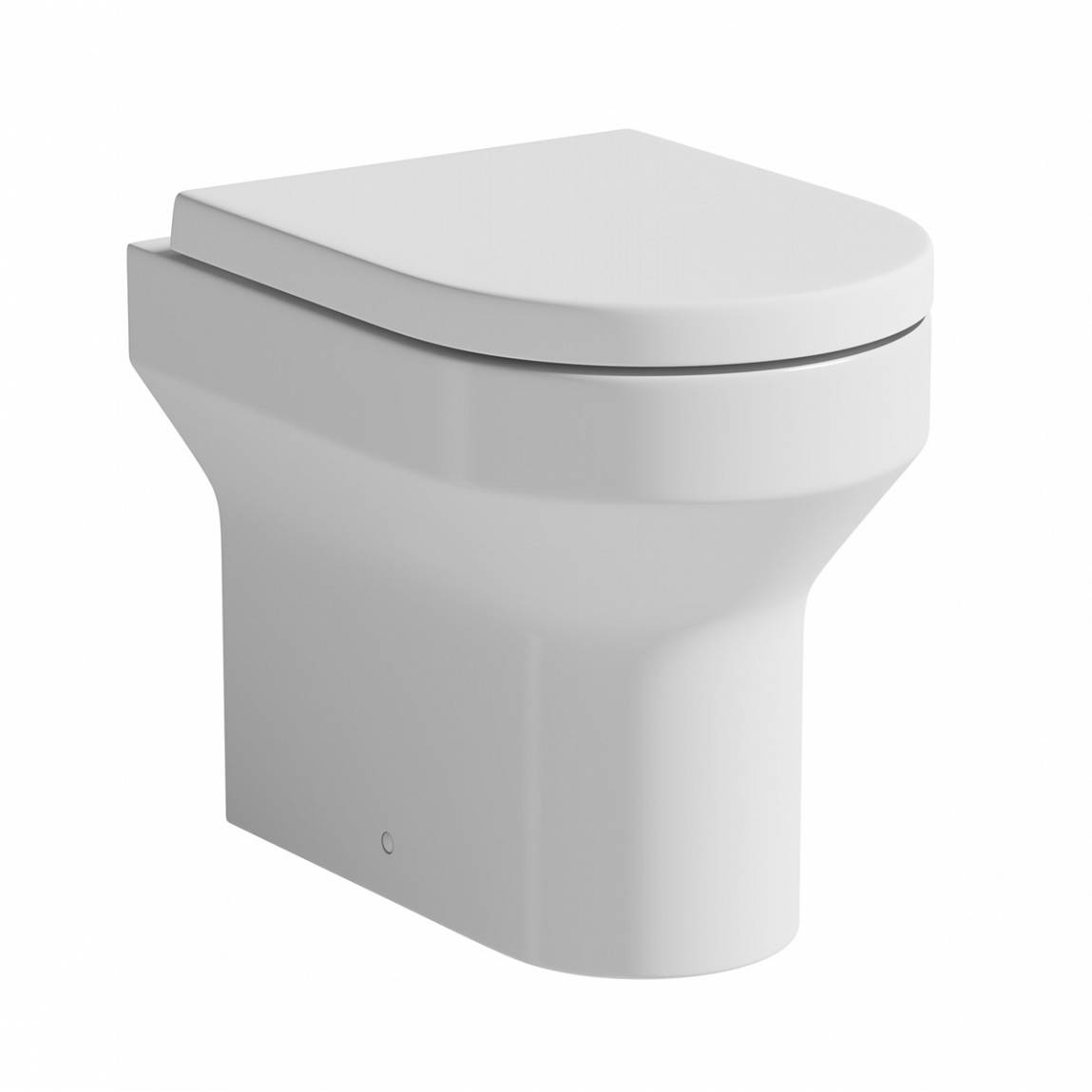 Image of Oakley Back to Wall Toilet inc Luxury Soft Close Seat