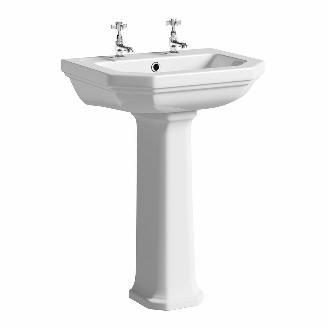 Image of Regency 2TH Basin and Pedestal Large