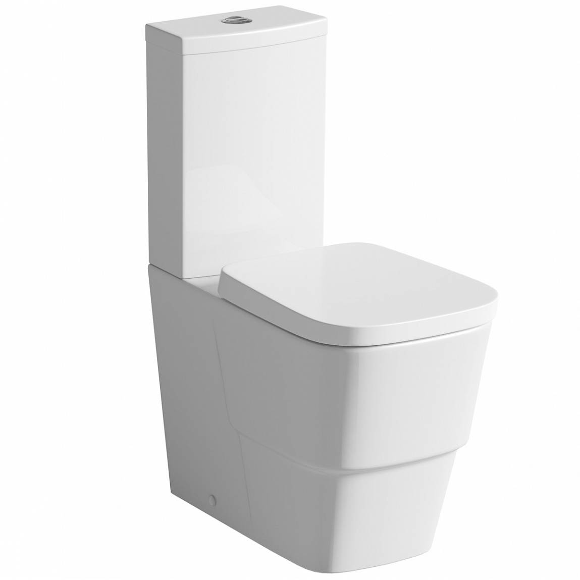 Image of Princeton Close Coupled Toilet inc Luxury Soft Close Seat