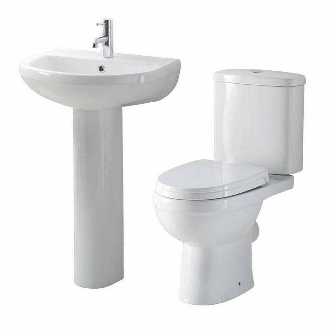 Energy Short Projection Toilet And Basin Suite