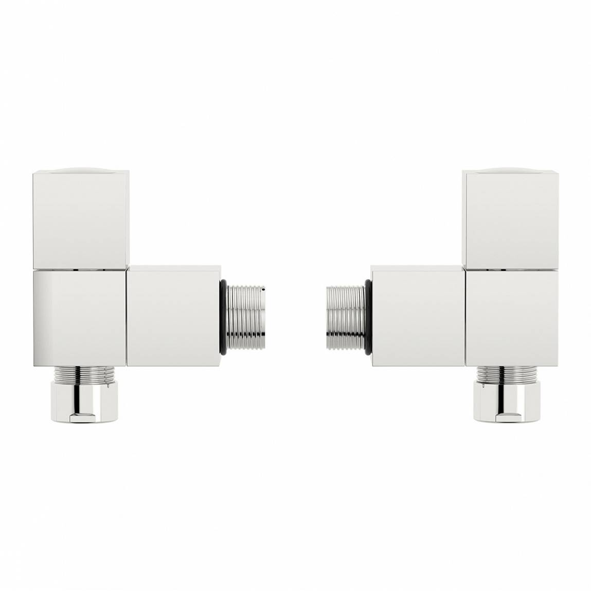 Image of Square Angled Radiator Valves