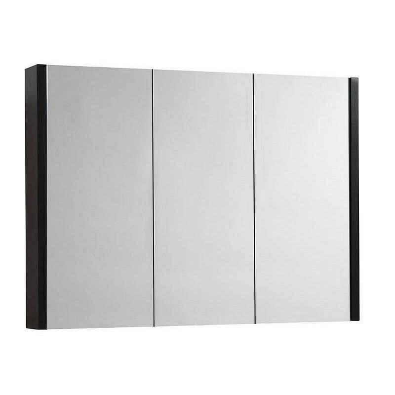 Image of Odessa Wenge 3 Door Mirror Cabinet