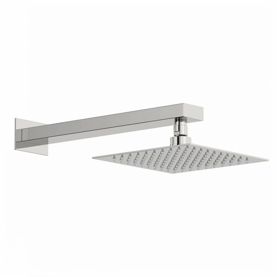 Image of Arcus 200mm Shower Head & Rectangular Wall Arm