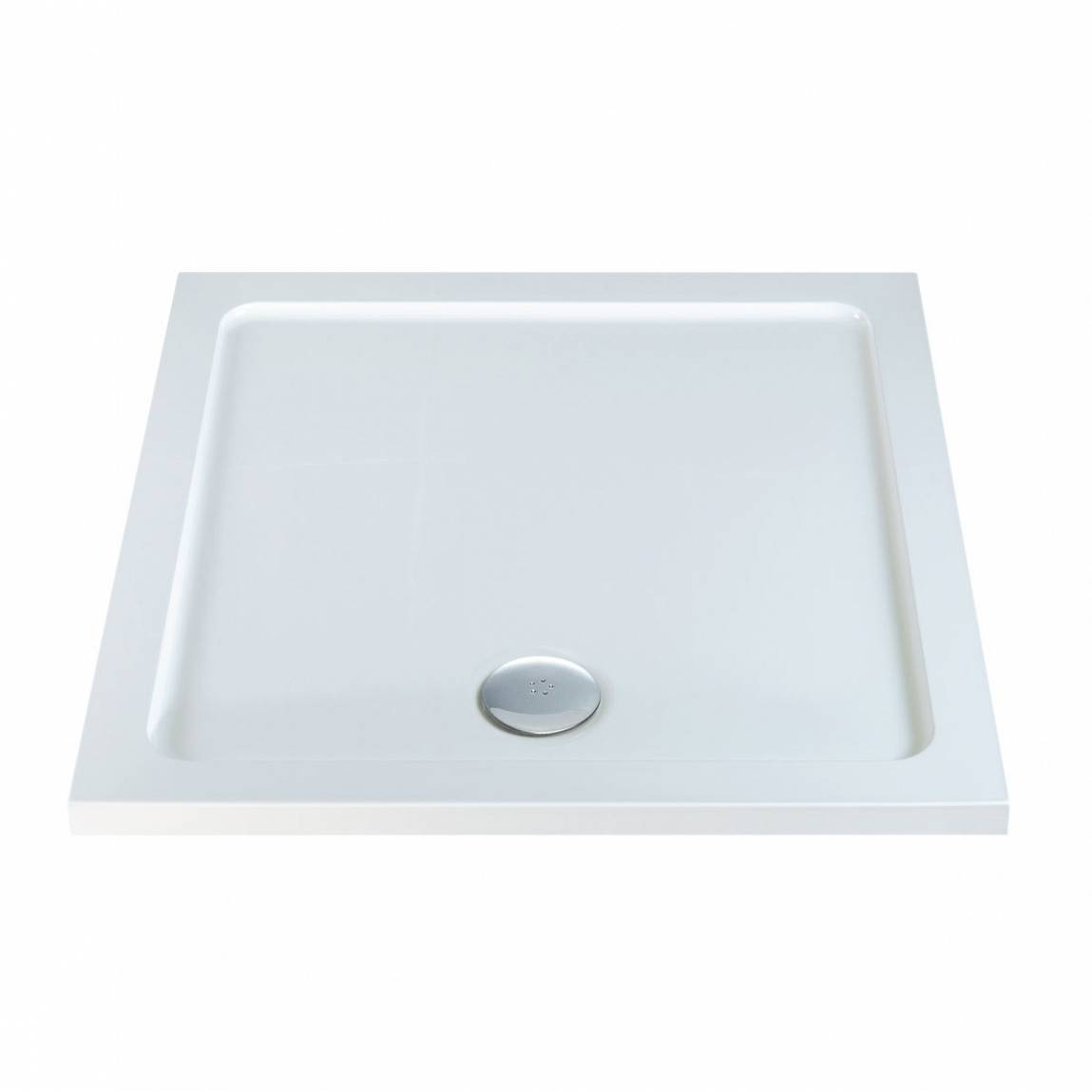Image of Square Stone Shower Tray 1000 x 1000