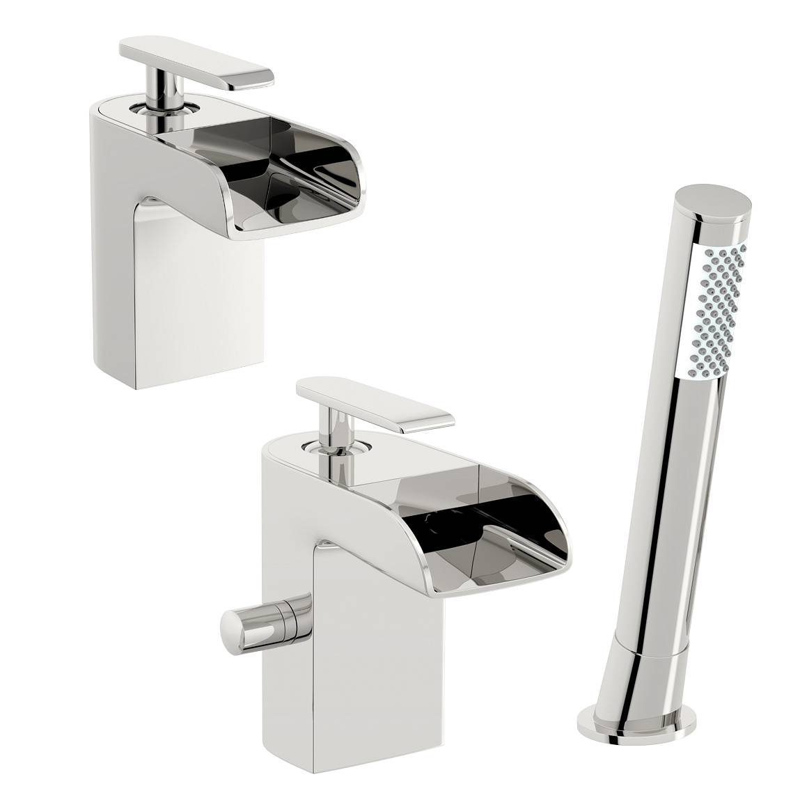 Image of Reinosa Basin and Bath Shower Mixer Pack