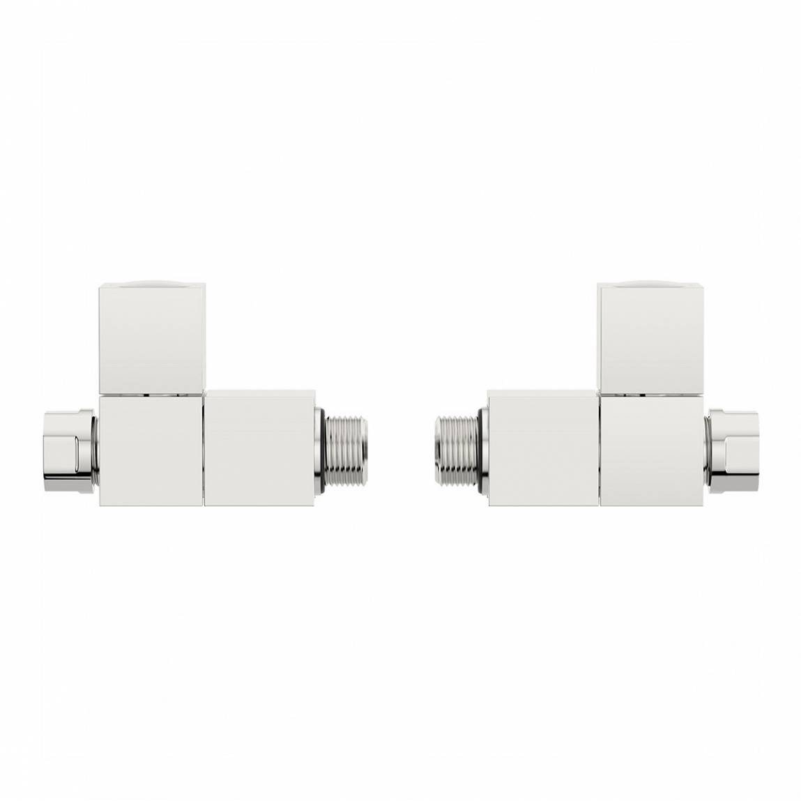 Image of Square Straight Radiator Valves