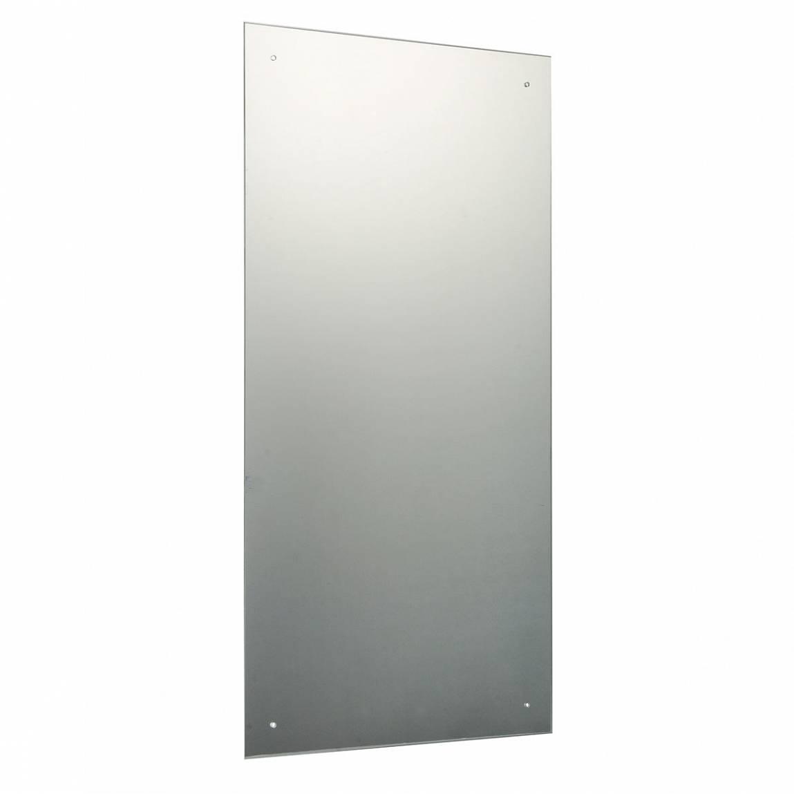Image of Rectangular Drilled Mirror 90x45cm