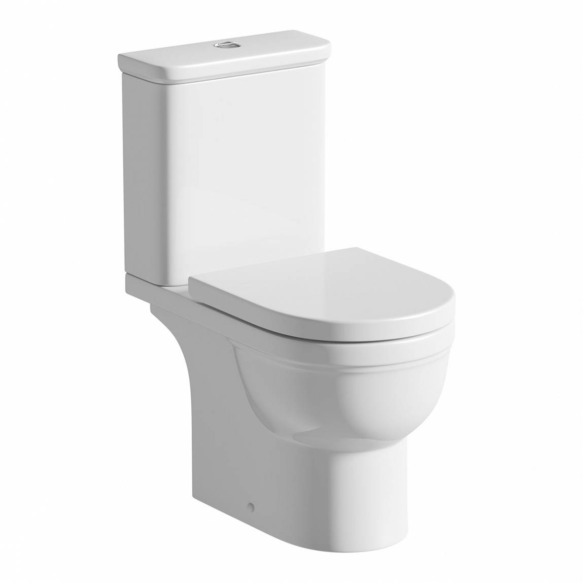 Image of Deco Close Coupled Toilet exc Seat Special Offer