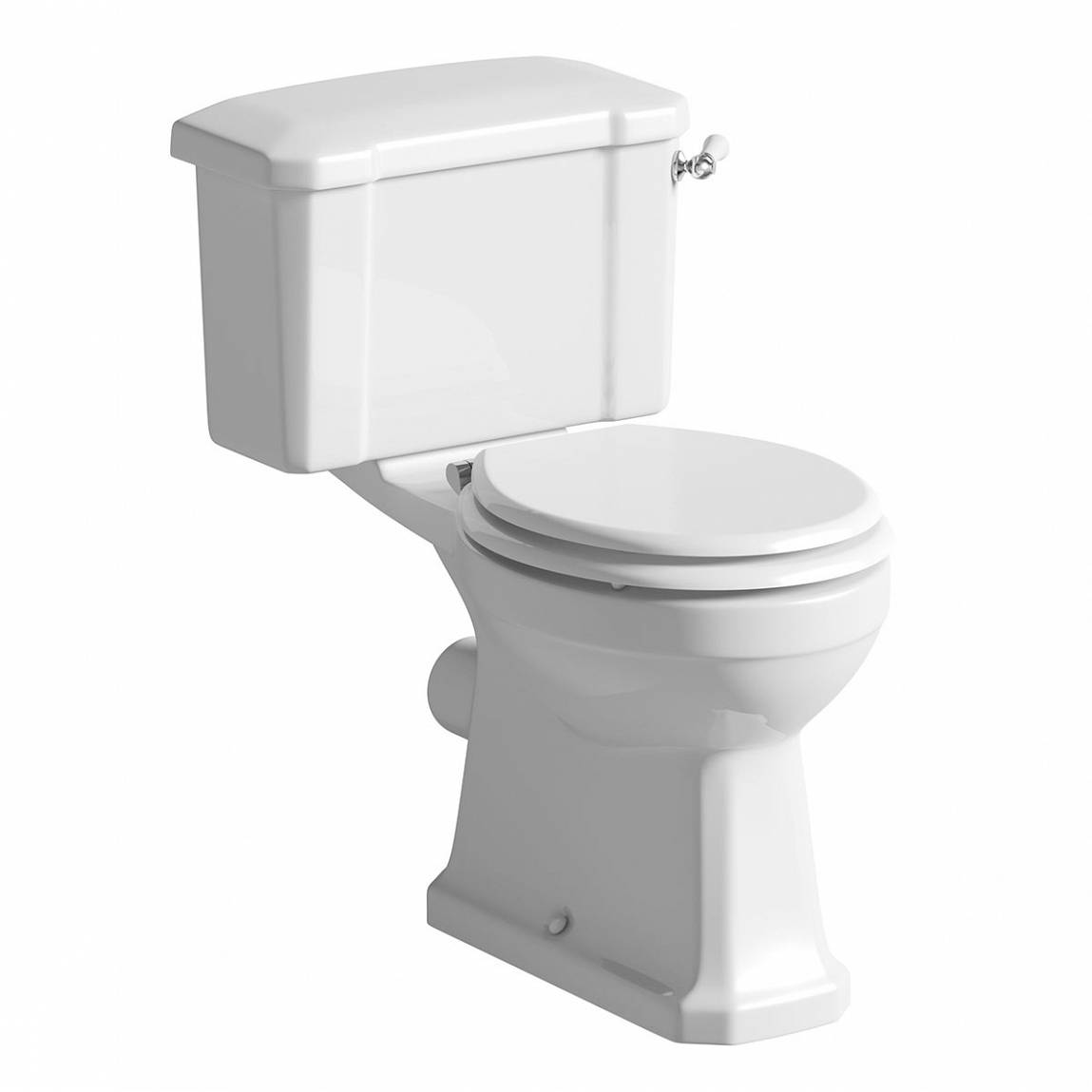 Image of Camberley Close Coupled Toilet inc Luxury White Soft Close Seat