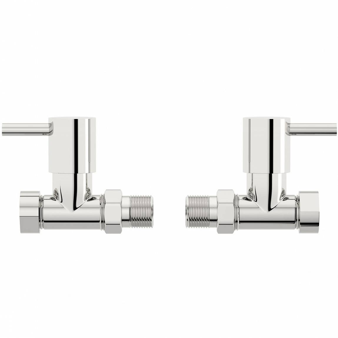 Image of Secta Straight Radiator Valves