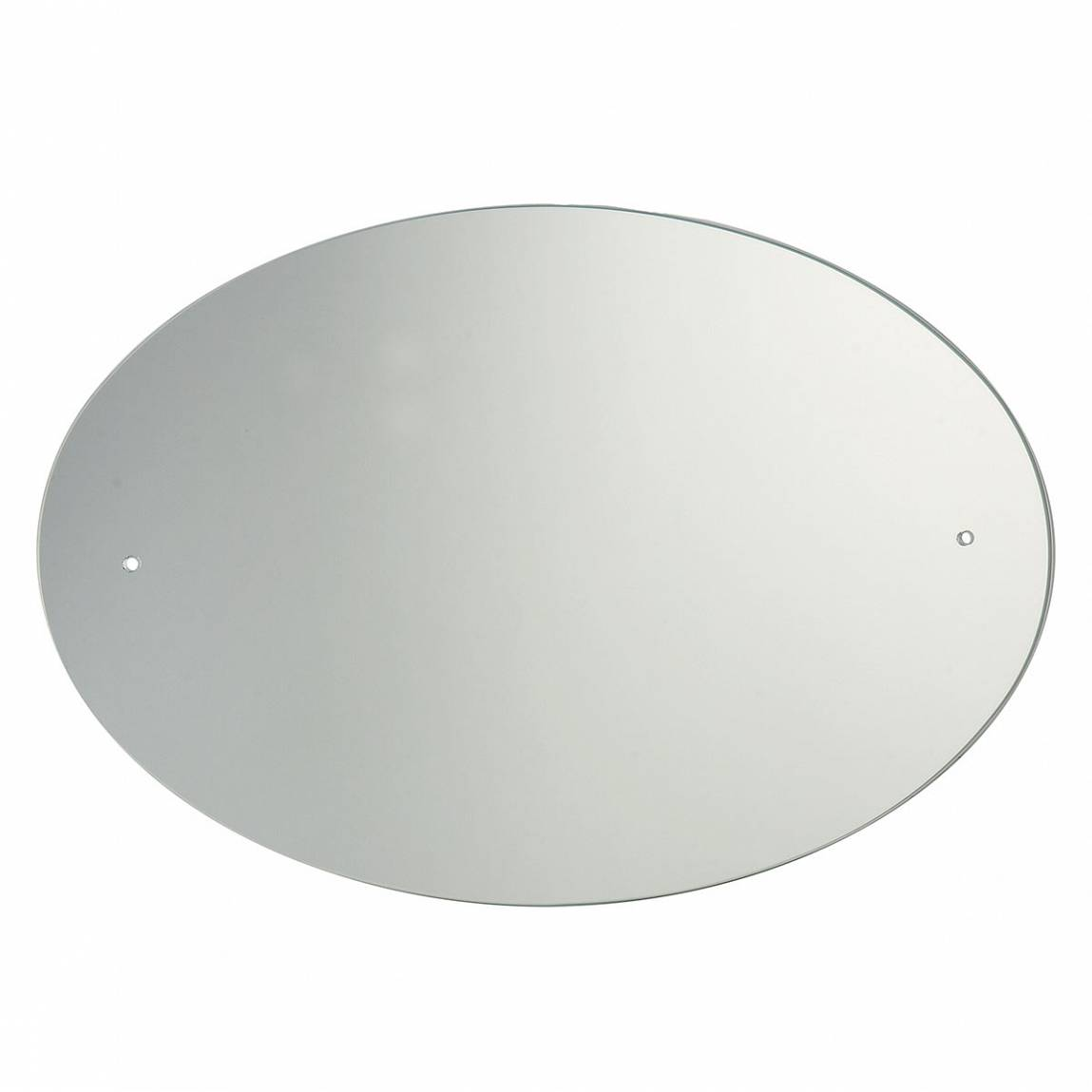 Image of Oval Drilled Mirror 60x45cm