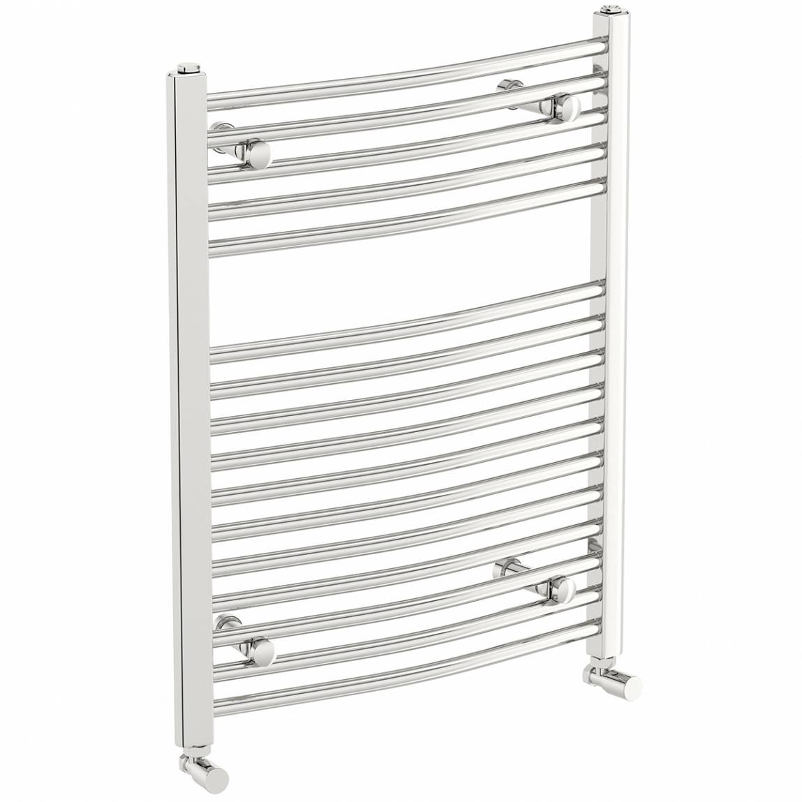 Image of Curved Heated Towel Rail 750 x 600