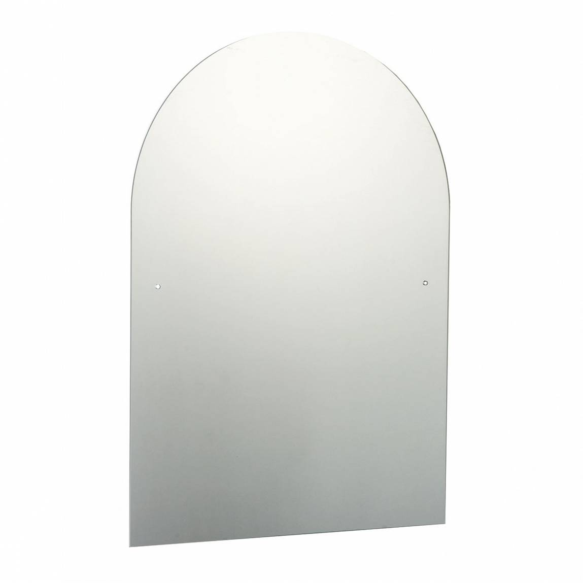 Image of Arched Drilled Mirror 50x70cm