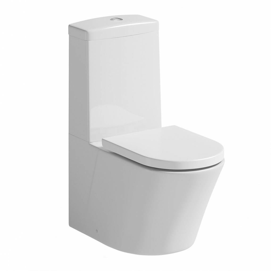 Image of Arc Close Coupled Toilet inc. Quick Release Soft Close Seat Special Offer