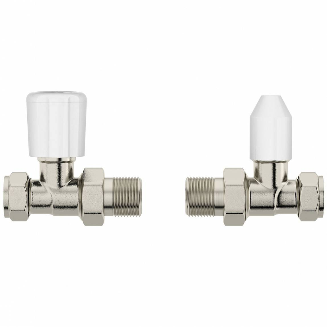 Image of Straight Radiator Valves