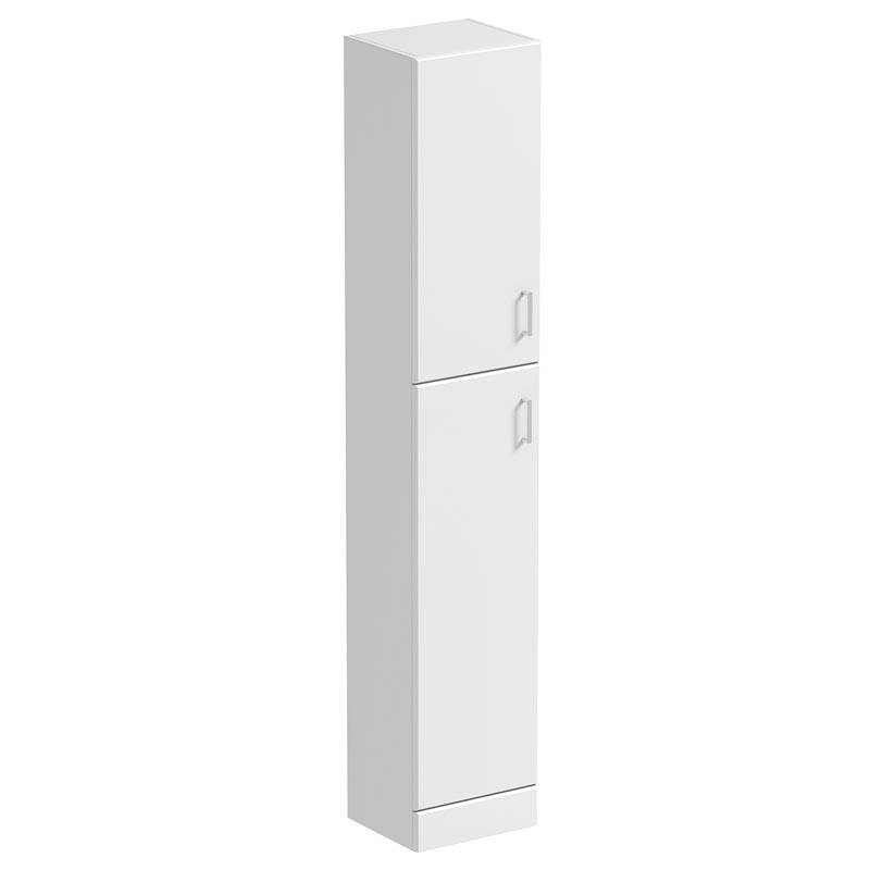 Image of Sienna White Tall Wall Cabinet 300