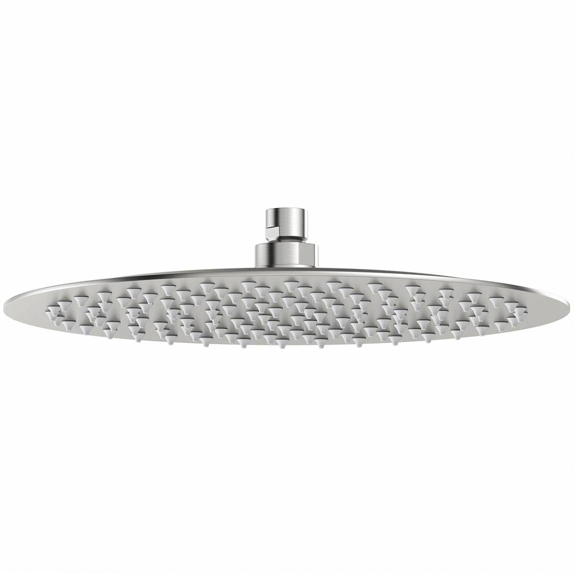 Image of Brushed Stainless Steel Waifer Shower Head Round 300mm