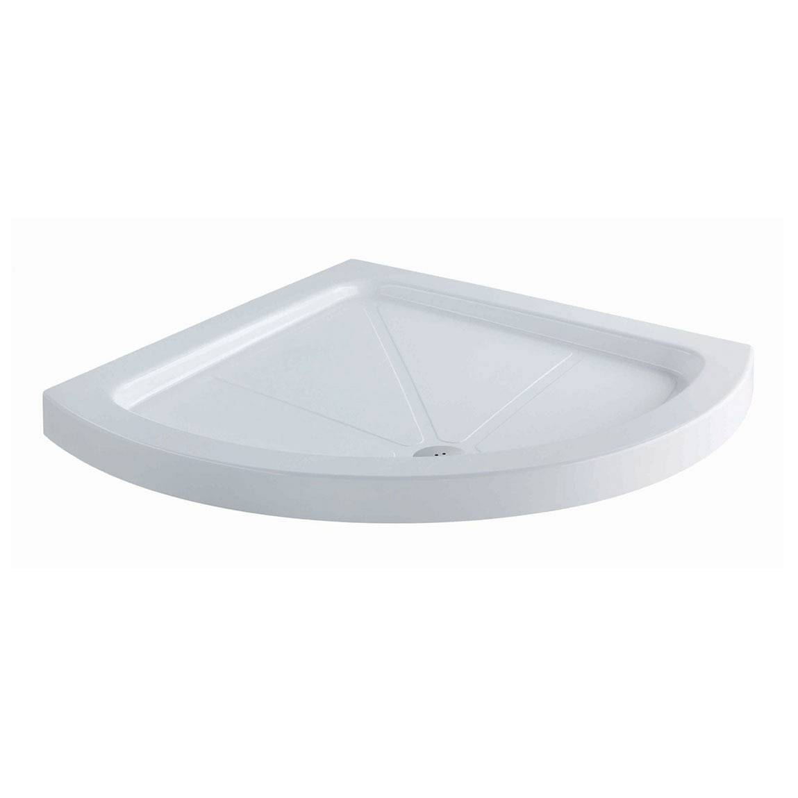 Image of Bow Quadrant Stone Shower Tray 900