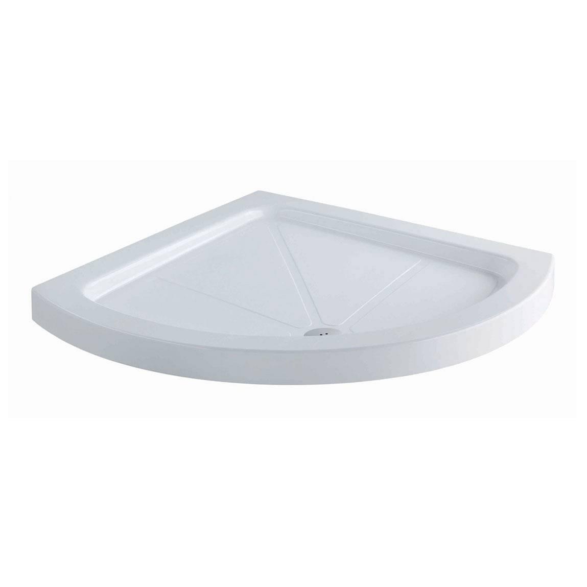 Image of Bow Quadrant Stone Shower Tray 900