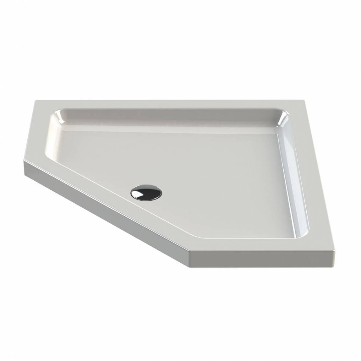 Image of Pentagonal Stone Shower Tray 900 x 900