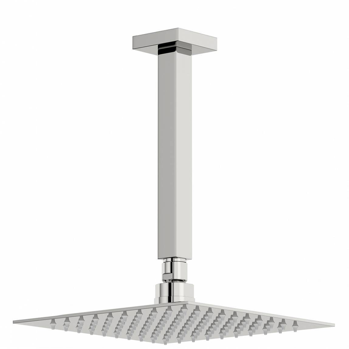 Image of Arcus 200mm Shower Head & Square Ceiling Arm