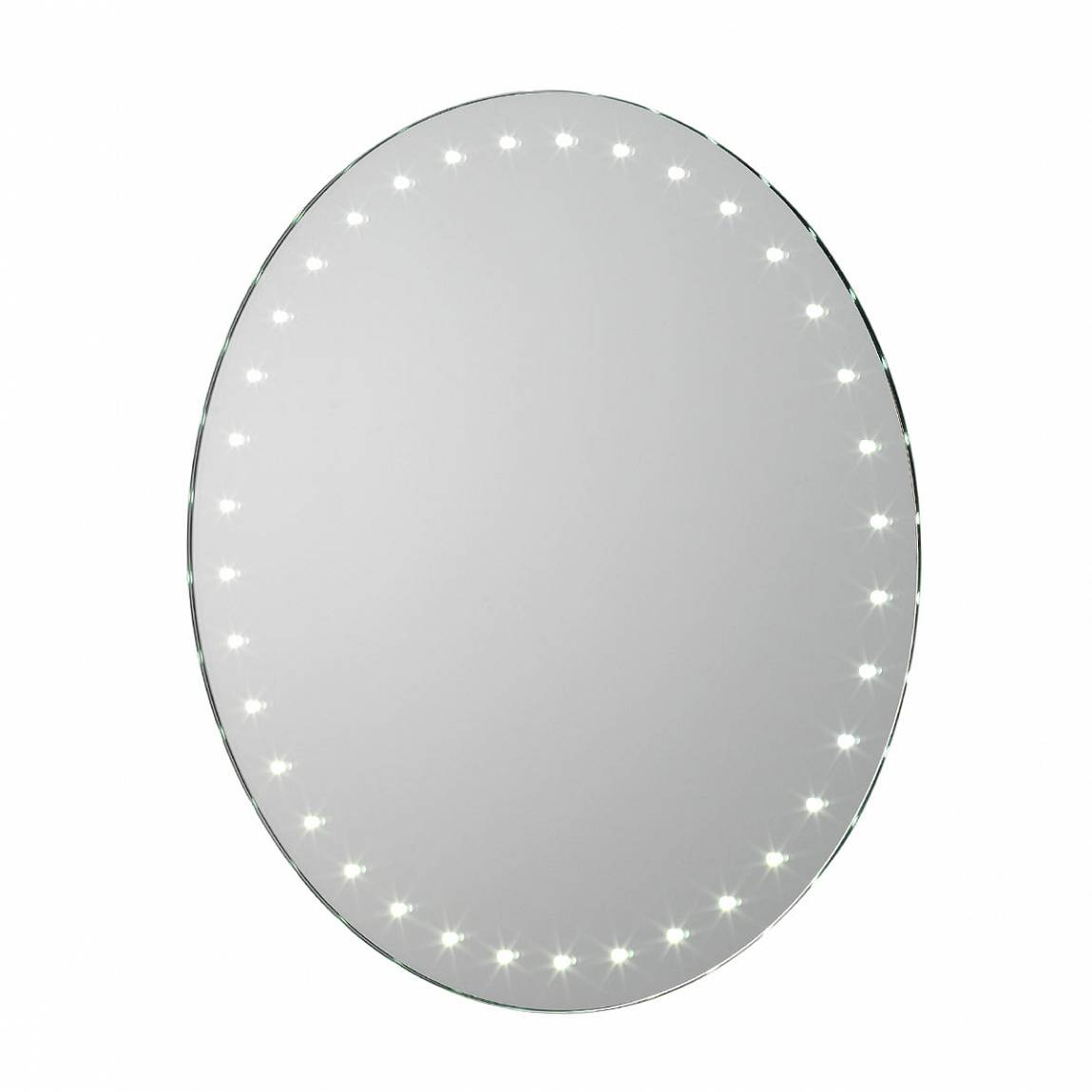 Image of Aries LED Round Battery Mirror