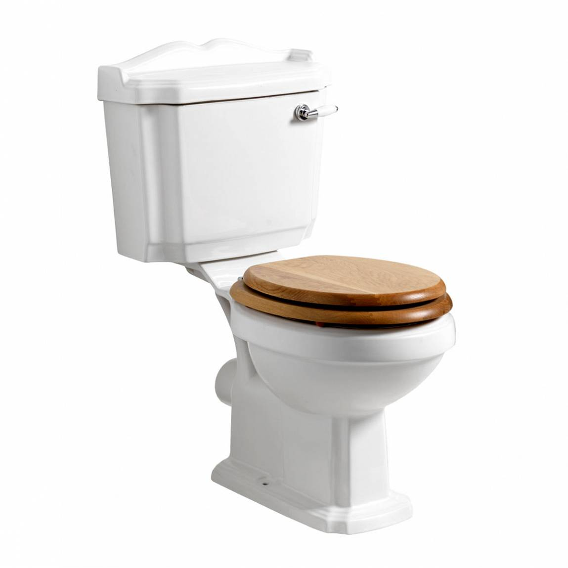 Image of Winchester Close Coupled Toilet inc Oak Seat