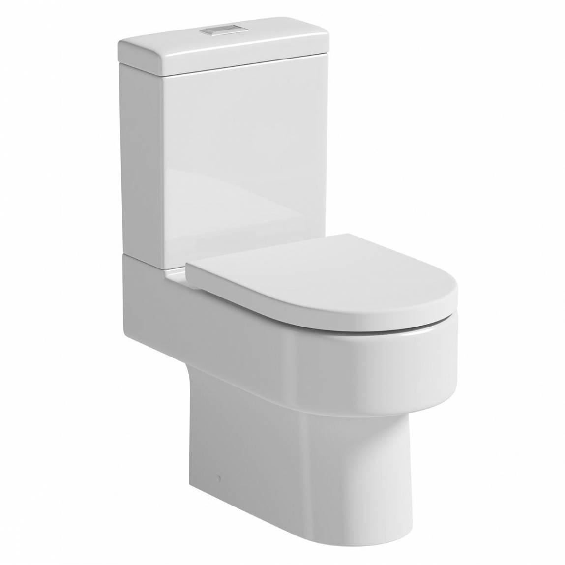 Image of Brooklyn Close Coupled Toilet inc Luxury Soft Close Seat PLUS Pushfit Valve