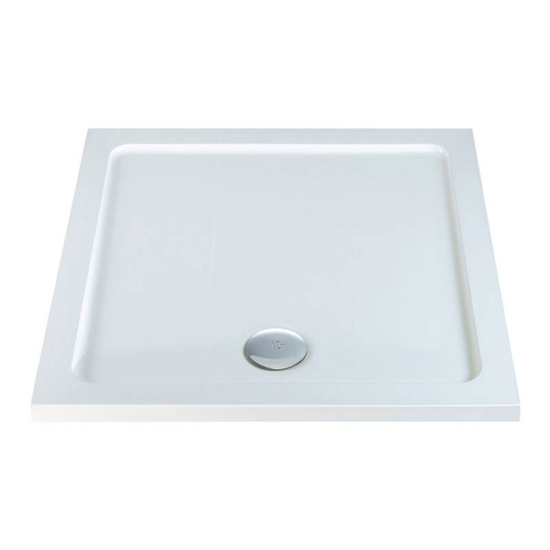 Image of Square Stone Shower Tray 800 x 800