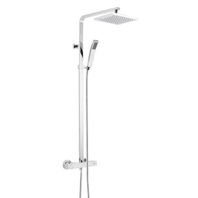 Image of Tetra Square Head Shower Riser System