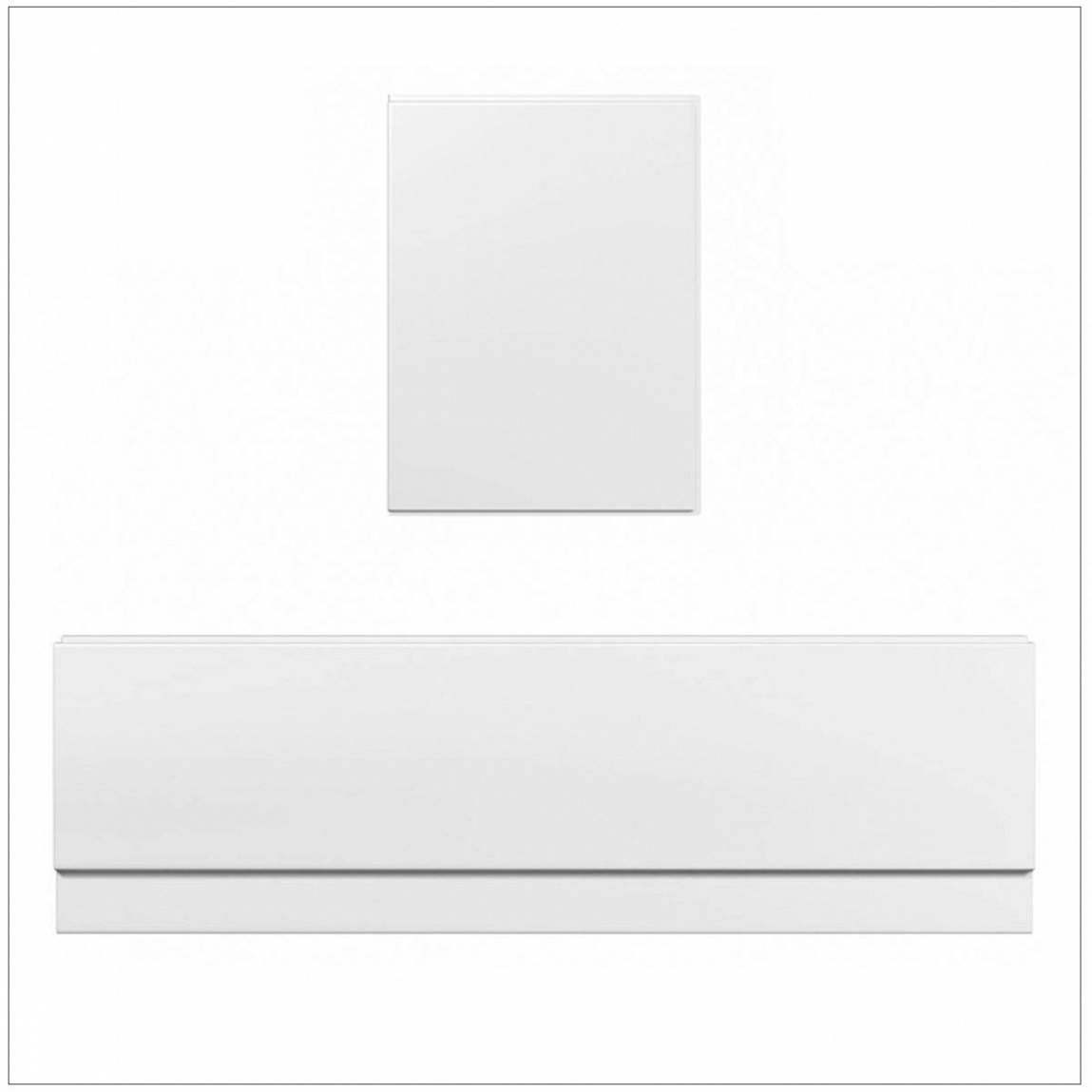 Image of Straight Bath Panel Pack 1700 x 750