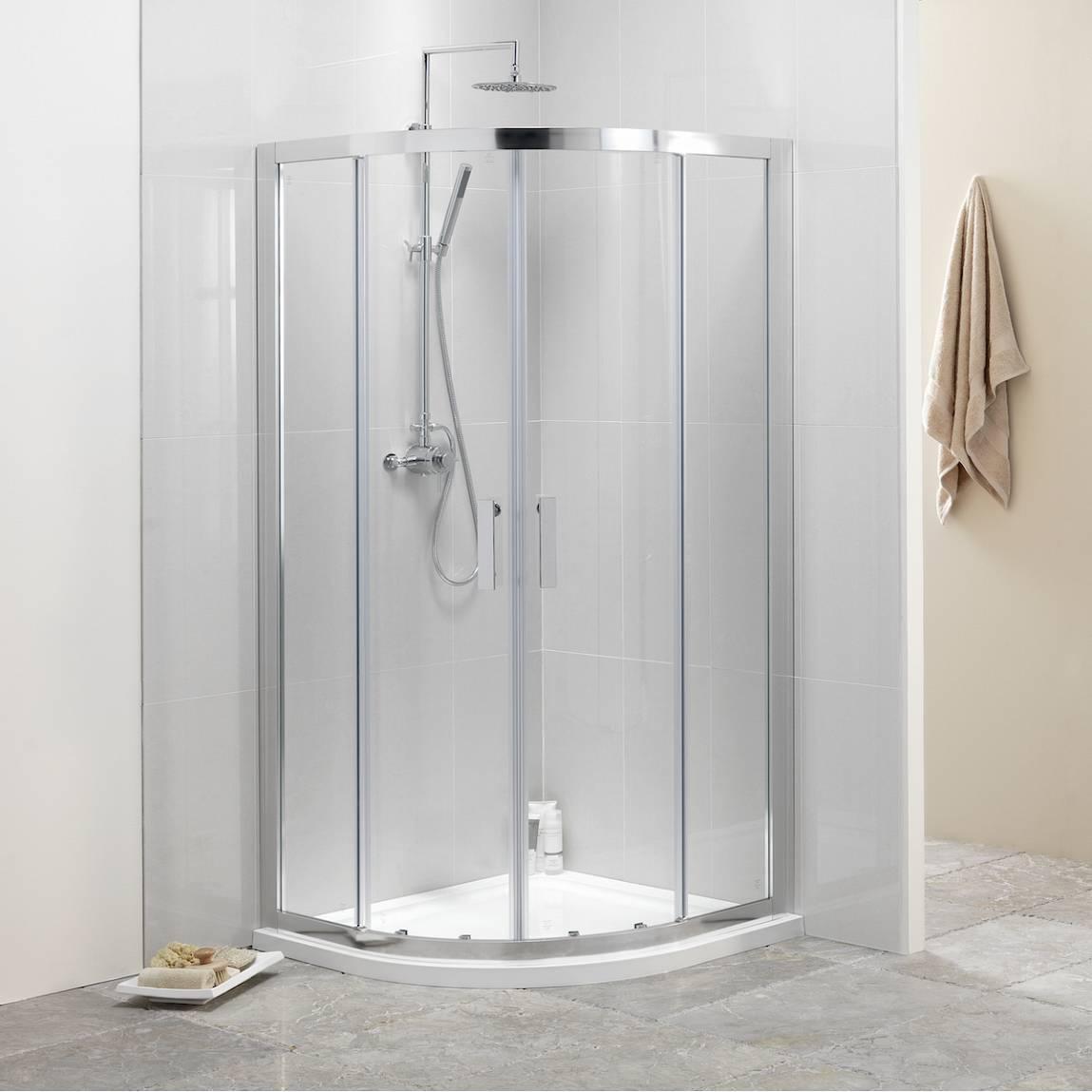 Image of V8 8mm Framed Quadrant Shower Enclosure 900