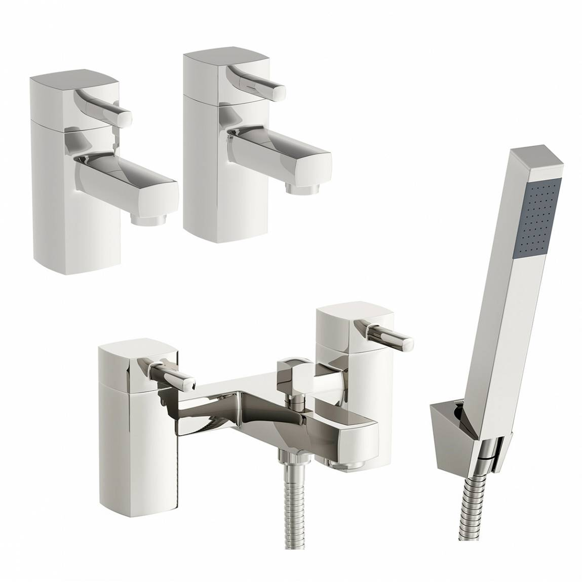 Image of Osca Basin Tap and Bath Shower Mixer Pack